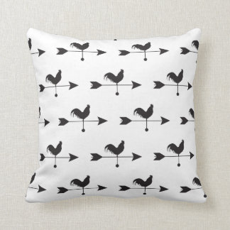 HEN Rooster Country Farm Animal Arrow Pillow