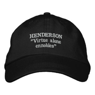 Henderson Clan Motto Embroidered Hat