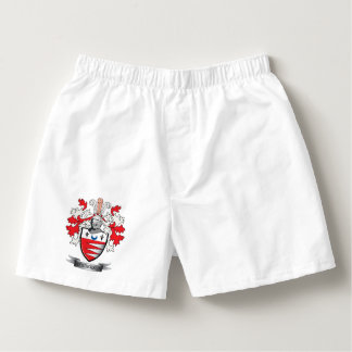 Henderson Family Crest Coat of Arms Boxers