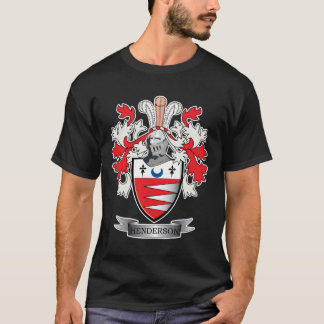 Henderson Family Crest Coat of Arms T-Shirt