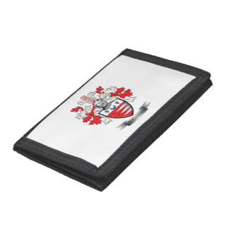 Henderson Family Crest Coat of Arms Tri-fold Wallet