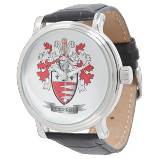 Henderson Family Crest Coat of Arms Watch