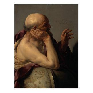 Hendrick Terbrugghen- Heraclitus Postcard
