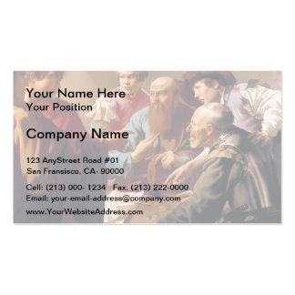 Hendrick Terbrugghen- The Calling of St. Matthew Business Cards