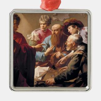 Hendrick Terbrugghen- The Calling of St. Matthew Christmas Tree Ornaments