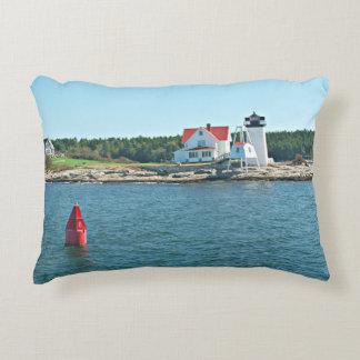 Hendricks Head Lighthouse, Maine Accent Pillow