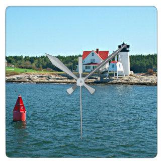 Hendricks Head Lighthouse, Maine Clock