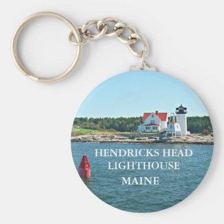 Hendricks Head Lighthouse, Maine Keychain