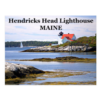 Hendricks Head Lighthouse, Maine Postcard