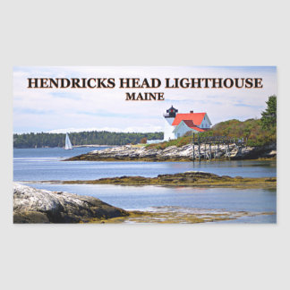 Hendricks Head Lighthouse, Maine Stickers