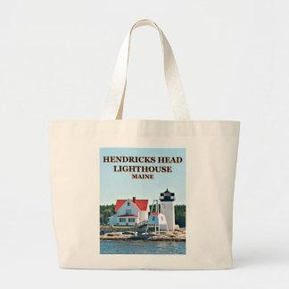 Hendricks Head Lighthouse, Maine Tote Bag
