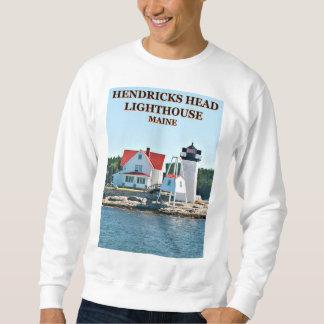 Hendricks Head Lighthouse, Southport Island Maine Sweatshirt