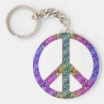 Hendrix on Peace Keychains