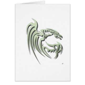 Henham the Metallic Green Dragon Card