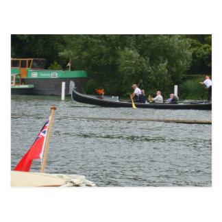 Henley on Thames, Gondola on the Thames Postcard