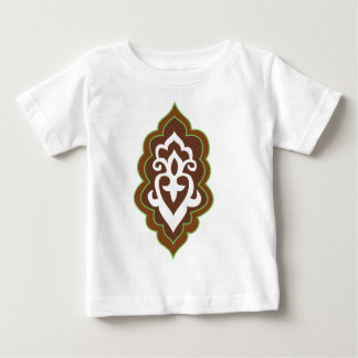 Henna Arabesque Green Baby T-Shirt
