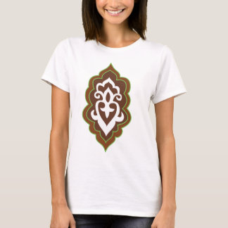 Henna Arabesque Green T-Shirt