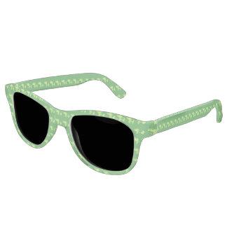 Henna Elephant (Green/Lime Green) Sunglasses