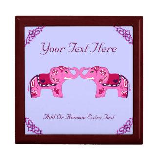 Henna Elephant (Pink/Purple) Gift Box