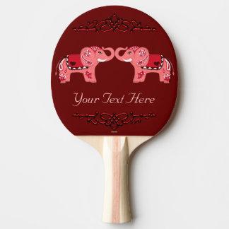 Henna Elephant (R Ping Pong Paddle