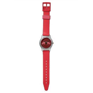 Henna Elephant (Red/Pink) Watch