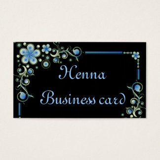 Henna fl Business card