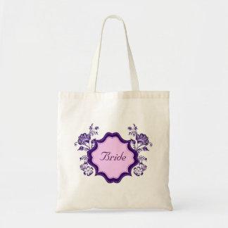 Henna Floral Budget Tote Bag