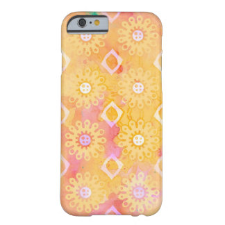 Henna Floral iPhone 6/6s, Barely There Phone Case