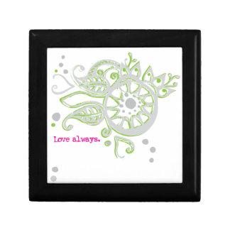 Henna Flower Love Always Drawing Gift Box