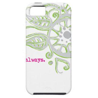 Henna Flower Love Always Drawing iPhone 5 Case