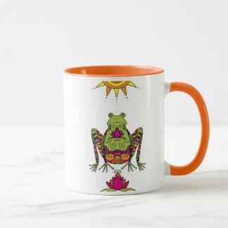 Henna Frog Mug