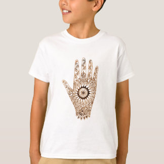 Henna Hand / Hamsa T-Shirt