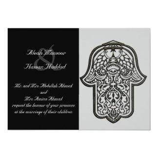 Henna Hand of Hamsa (Wedding) Card