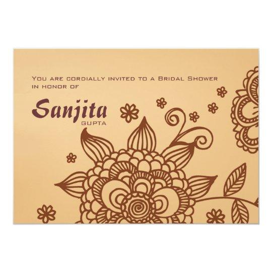 Henna Inspiration Invitation