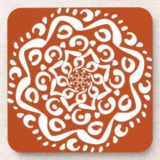 Henna Mandala Coaster