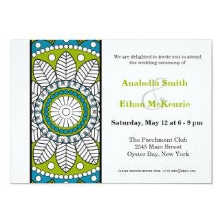 Henna Mehndi Wedding Card