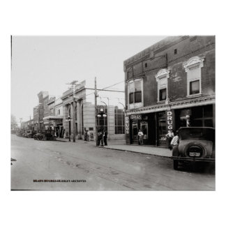 Hennessee Drug Store-McMinnville Tennessee 1926 Poster