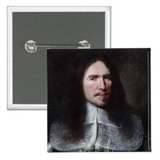 Henri de la Tour d'Auvergne  Viscount of Turenne 15 Cm Square Badge