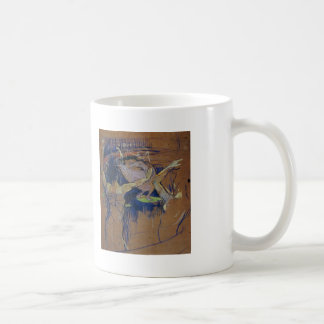 Henri de Lautrec- Ballet de Papa Chrysanth me Basic White Mug