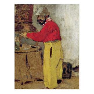 Henri de Toulouse-Lautrec at Villeneuve sur Postcard