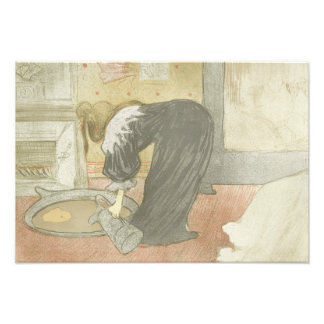 Henri de Toulouse-Lautrec - Elles - Woman at Tub Photo Art