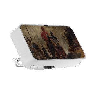 Henri de Toulouse-Lautrec- Jockeys Notebook Speaker