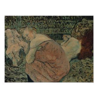 Henri de Toulouse-Lautrec - Two Friends Photograph