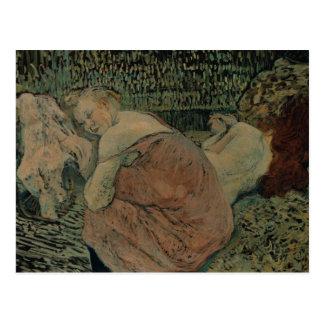 Henri de Toulouse-Lautrec - Two Friends Postcard