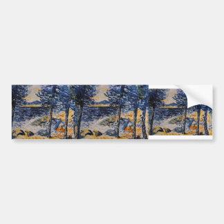 Henri-Edmond Cross: Pines by the Sea Bumper Stickers