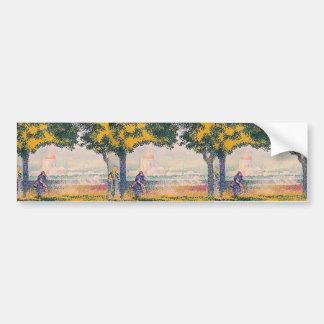 Henri Edmond:Cross View of the Church Bumper Stickers