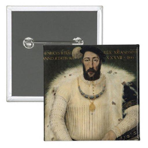 Henri II , King of France, 1555 Pins