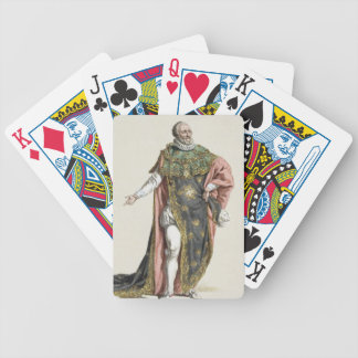 Henri IV (1553-1610) King of France, from 'Receuil Card Decks