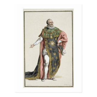 Henri IV (1553-1610) King of France, from 'Receuil Postcard