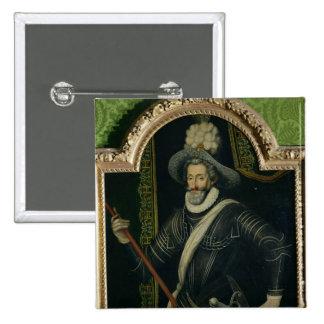 Henri IV King of France and Navarre c 1595 Pins